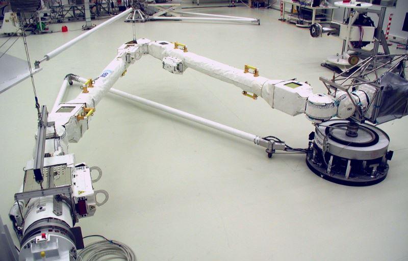 Airbus'ın robotik kolu uzaya gitmeye hazır