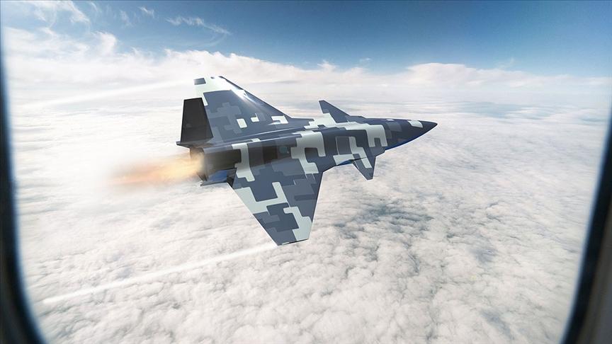 Baykar, yerli uçak projesinin ilk görsellerini paylaştı